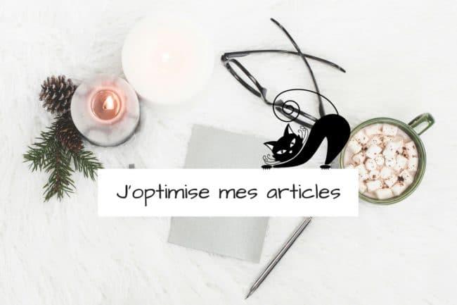 Optimiser mes articles : les mots clés
