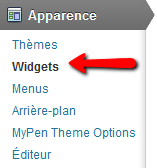 apparence widgets