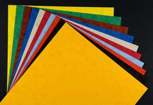 Papier structuré et coloré pour vos activités