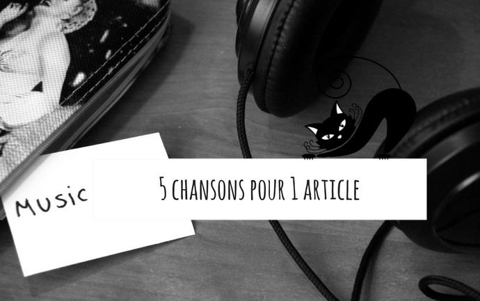 Détournez les paroles de plusieurs chansons pour un article