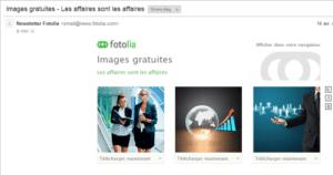 photos gratuites sur le site Fotolia
