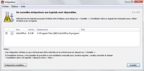 antidote 8 pour libre office