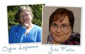 Interview de Julie et Sylvie pour l'Académie du Livre