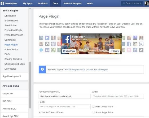 nouvelle Likebox Facebook