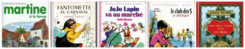 mots et lecture de mon enfance