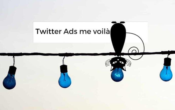 on fait sa publicité sur twitter