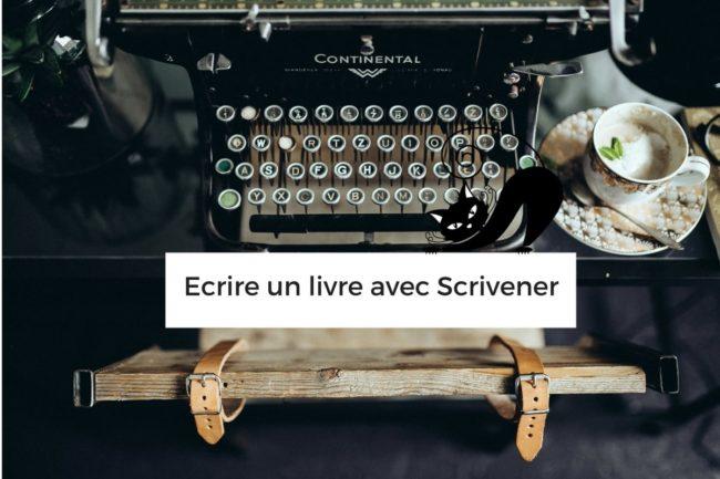 Ecrire un livre avec Scrivener