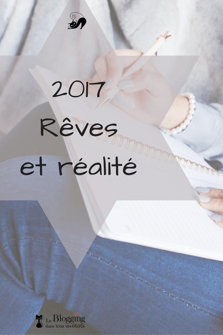 Mes projets et objectifs pour 2017 tant à titre personnel que professionnel et même pour mon blog