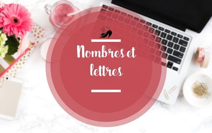 Nouvelle orthographe : des nombres et des lettres